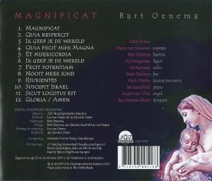 Magnificat (2011) achterkant